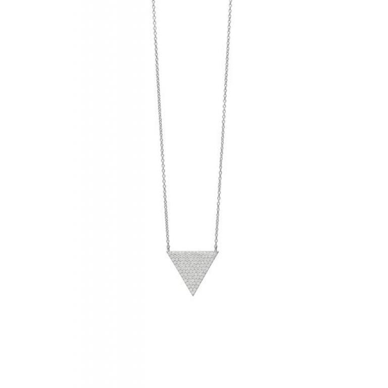 Gargantilla plata Lineargent modelo 14844-W-PE